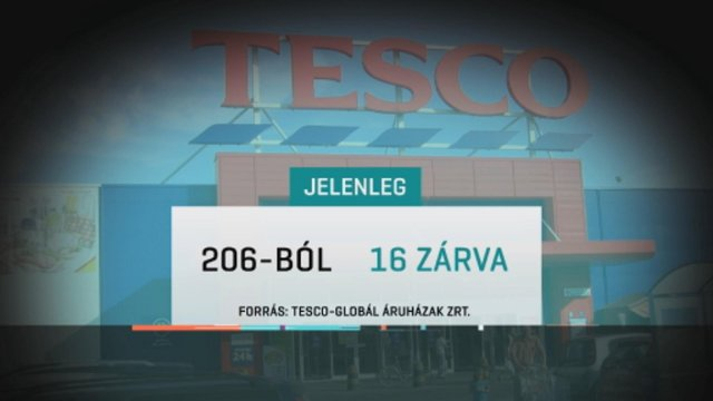 Sztrájk: 16 Tesco be is zárt